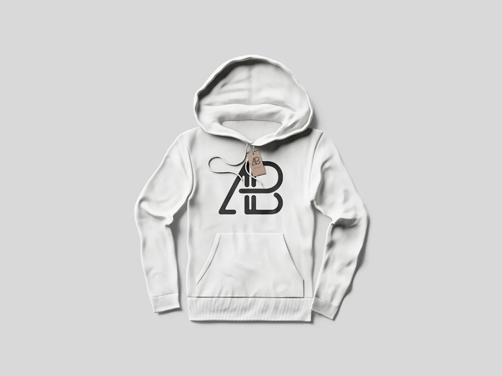 Download Hoodie With Tag Mockup Hoodie Mockup Hoodies Clothing Mockup