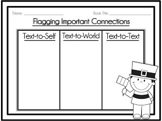 {FREEBIE} Flagging Important Connections Graphic Organizer ...