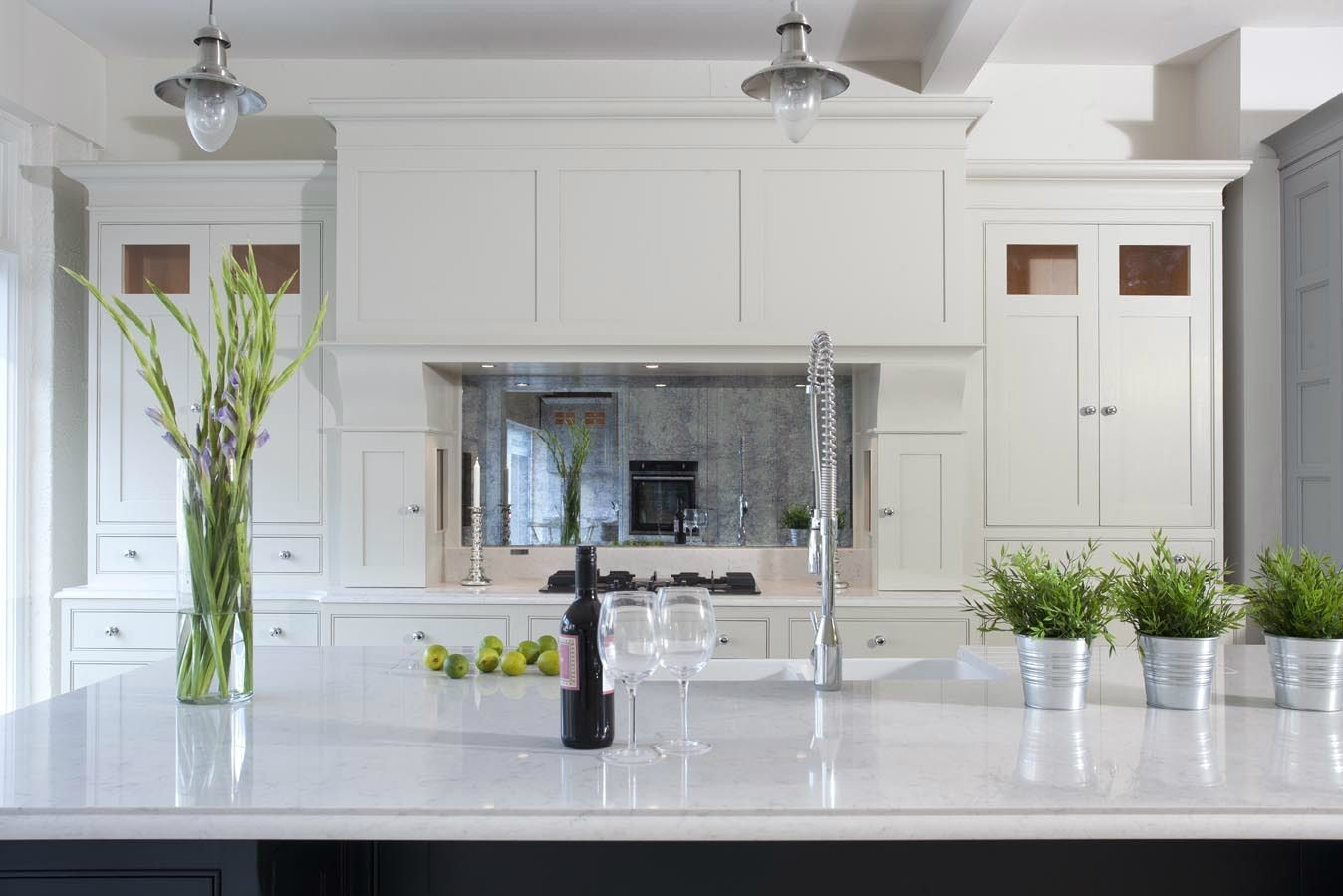 Silestone Lagoon Countertop in 2020 | Marble countertops ... on Modern Kitchen Countertop Decor  id=44748