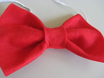 The Simple Craft Diaries: Cat in The Hat Bow Tie | sewing projects ...