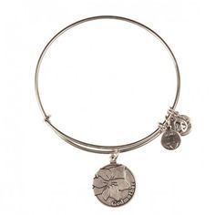 Alex and Ani Godmother Charm Bangle in Silver from Olivia and Amelia Christmas 2013
