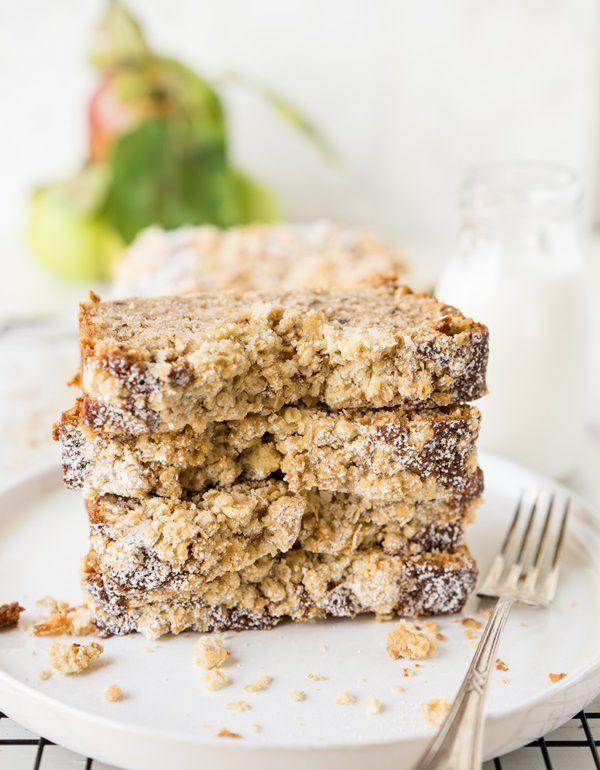 saftiger Apfel-Walnuss-Streusel-Kuchen - schnelles Rezept #Äpfelverwerten