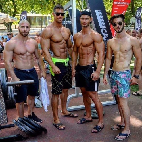 Pin en Muscle Friends