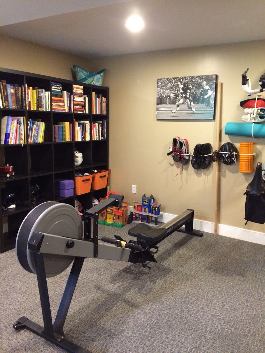 Finally have my home fitness corner organized zero g gear