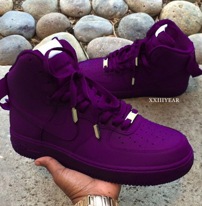 d8ac3218031 Nike Air Force 1 Violet  sneakersfashion