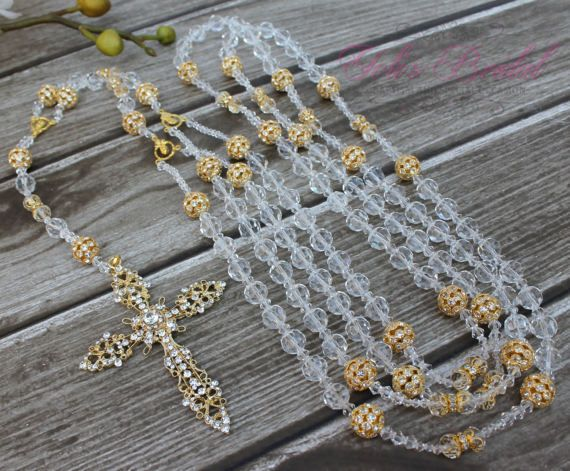Gorgeous Silver Crystal Wedding Lasso Box Beautiful Sparkling Unity Cord Gift