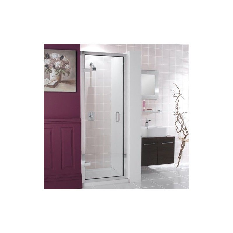Simpsons Classic Frameless Hinged Shower Door 600mm Liquid Design Luxury Shower Enclosures Bathroom Shower Doors Shower Doors