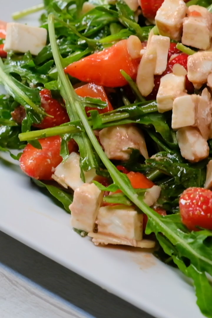 ✔ Healthy Salads Videos Arugula #healthy #fitness #rawpressery