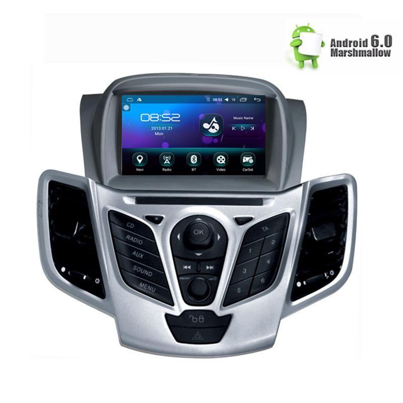 7 Android 9 0 Car Dvd Stereo For Fiesta 2013 2014 2015 2016 Auto Radio Gps Navigation Audio Video Dab Wifi 1gb Ram