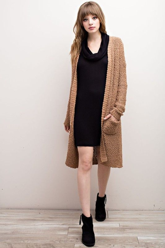 Walker Cardigan - Camel | Vinnie Louise Products | Pinterest ...