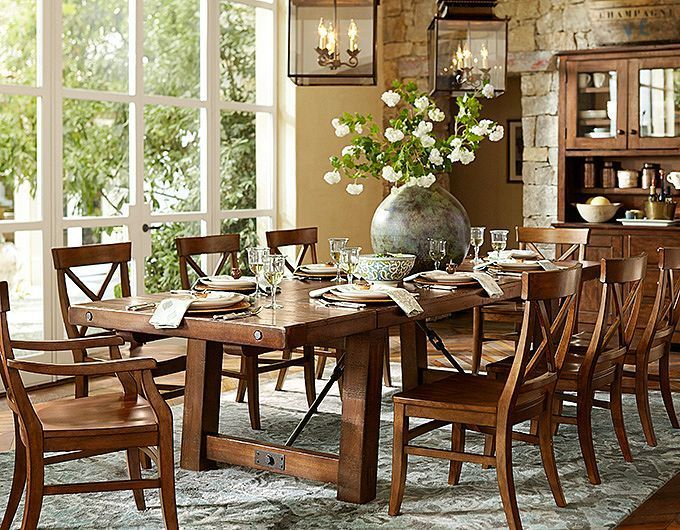 Dining Room Awesome Benchwright Extending Table Pottery Rh In Pinterest Com
