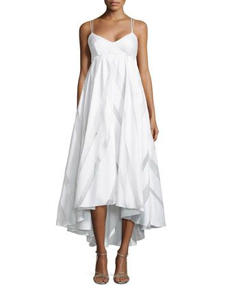 Shop Striped Empire-Waist Trapeze Dress from Milly at Neiman Marcus Last  Call 7cbfdb8d4d82b