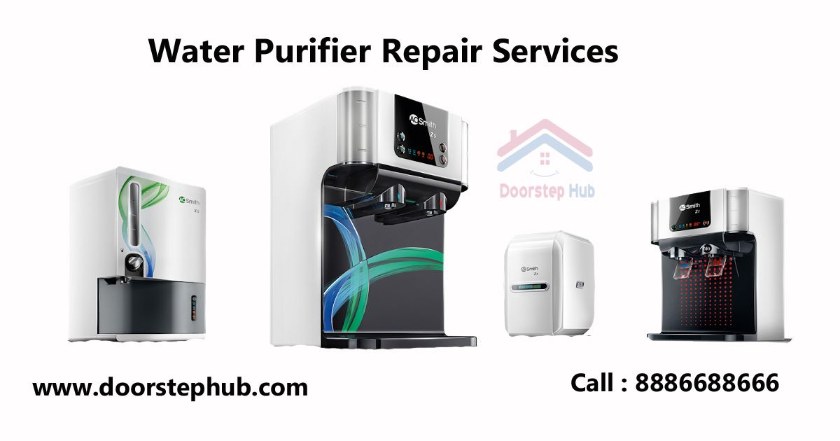 Your Water Purifier Is Not Working Get It Fixed From Our Experts Doorstep Repair Pay Online After Service Best Quality Servi Water Purifier Purifier Repair