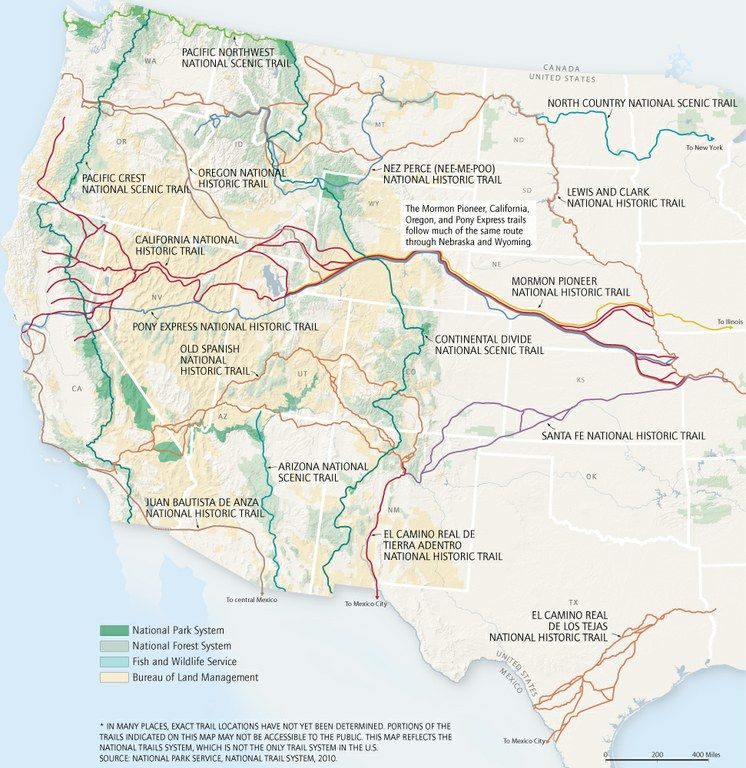 Nationaltrailsmapjpg A Network Of Trails That Spans The Country - Us trails map