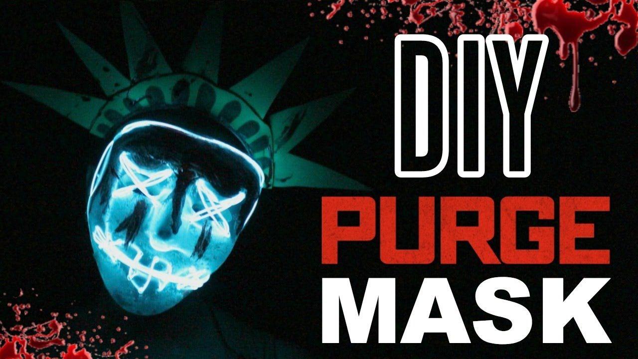 Diy Purge Election Year Lady Liberty Mask Halloween