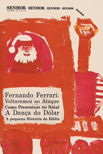 """Reprodução de capa da revista """"Senhor"""", que é tema de livro pela Imprensa Oficial do Estado de São Paulo"""