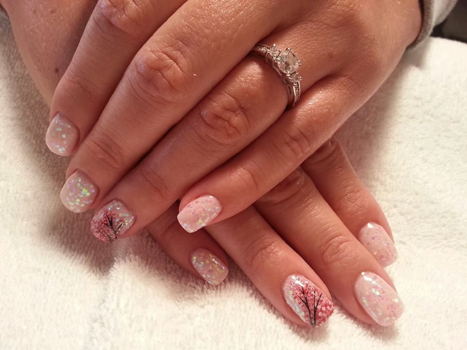 Wedding nail idea - Virtual Salon   Nail art ideas   Wedding