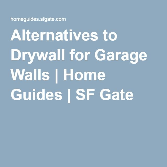 Alternatives To Drywall For Garage Walls Alternatives To Drywall Hanging Drywall Variegated Liriope
