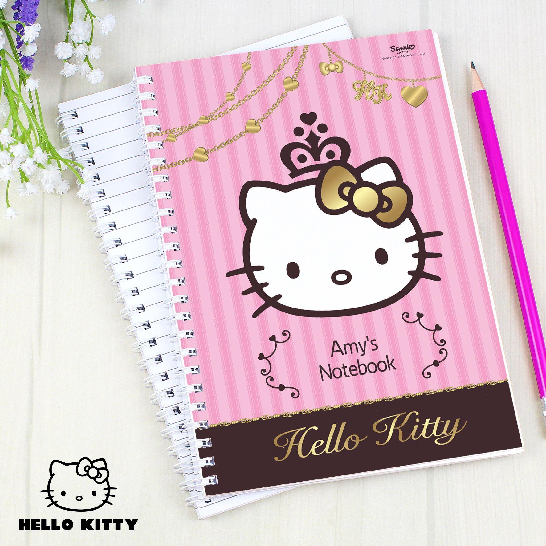 Hello kitty chic notebook