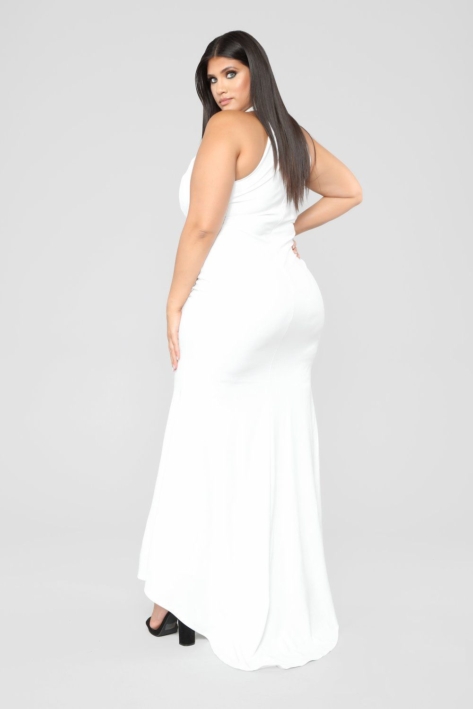 The Royal Debut Dress - Off White | Debut dresses, Curvy ...