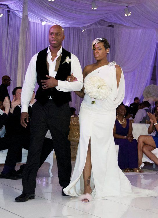 Kandi Burruss Wedding Pictured Fantasia Barrino Photo By Wilford Harewood