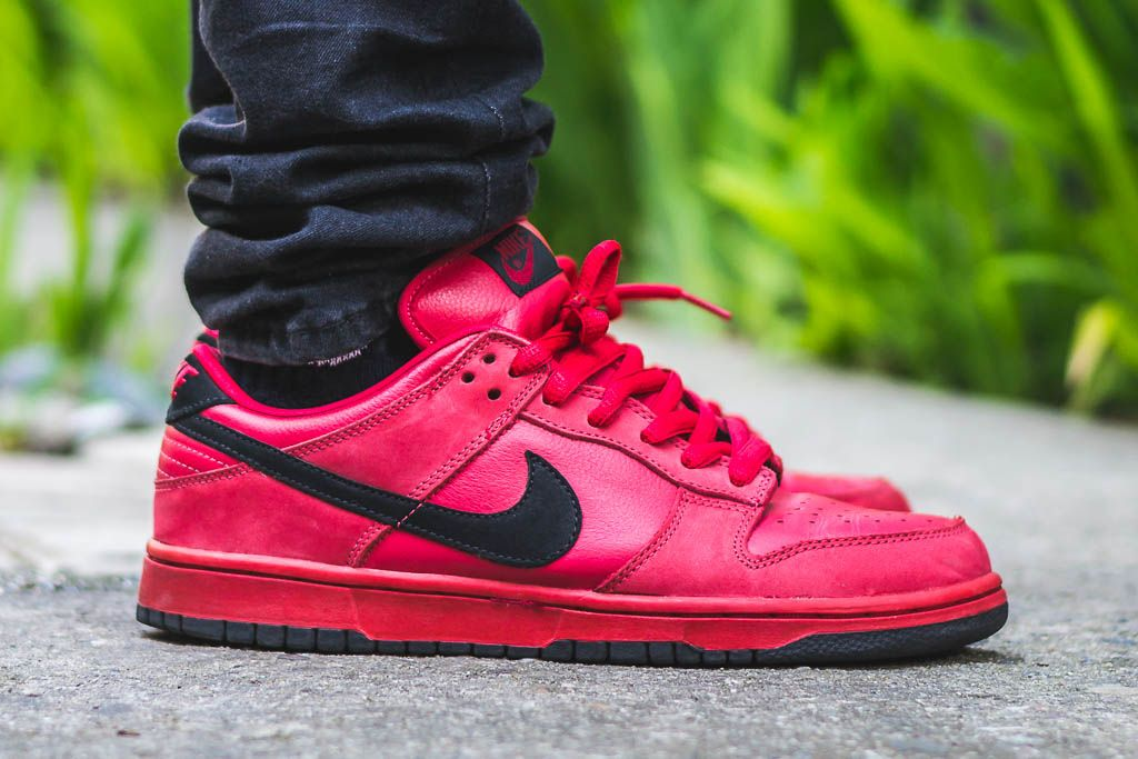 huge discount 3f60a 09d8c wdywt On foot video review of these NikeSB SBDunk truered + where