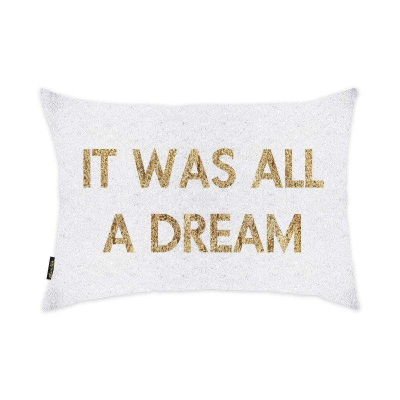 Oliver Gal Home Dream Sequin Throw Pillow - 19505.CPILLOW_14X20