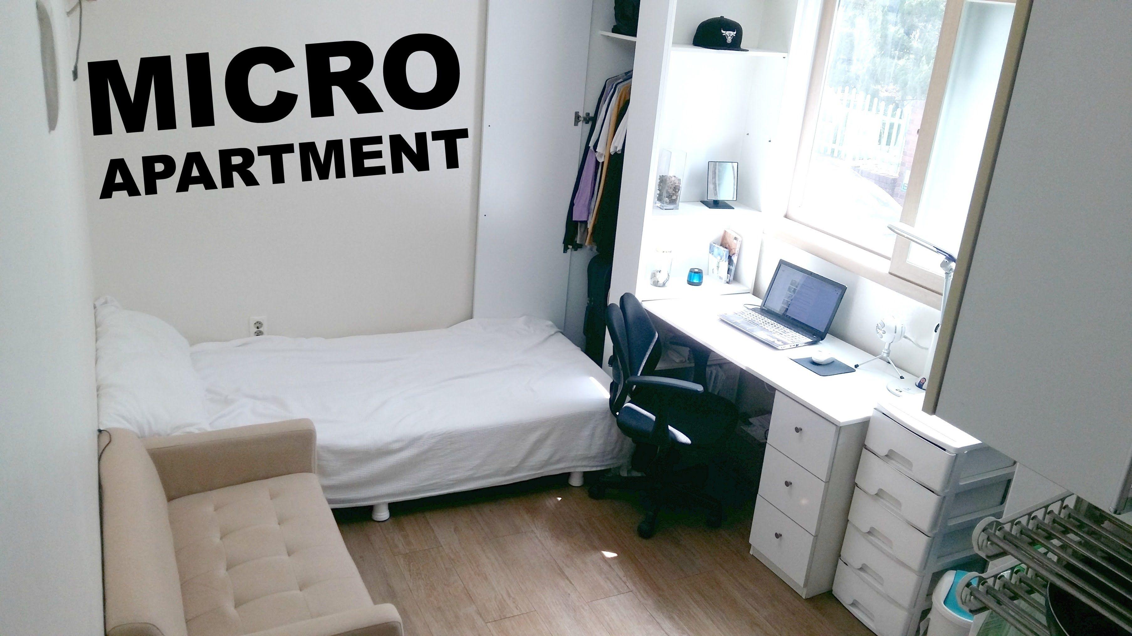 130 Sq Foot 500 Month Seoul Studio Apartment Tour