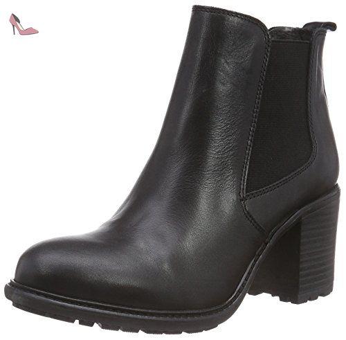 Buffalo Bottes Classiques FemmeNoirNoir (Preto 01), 39 EU