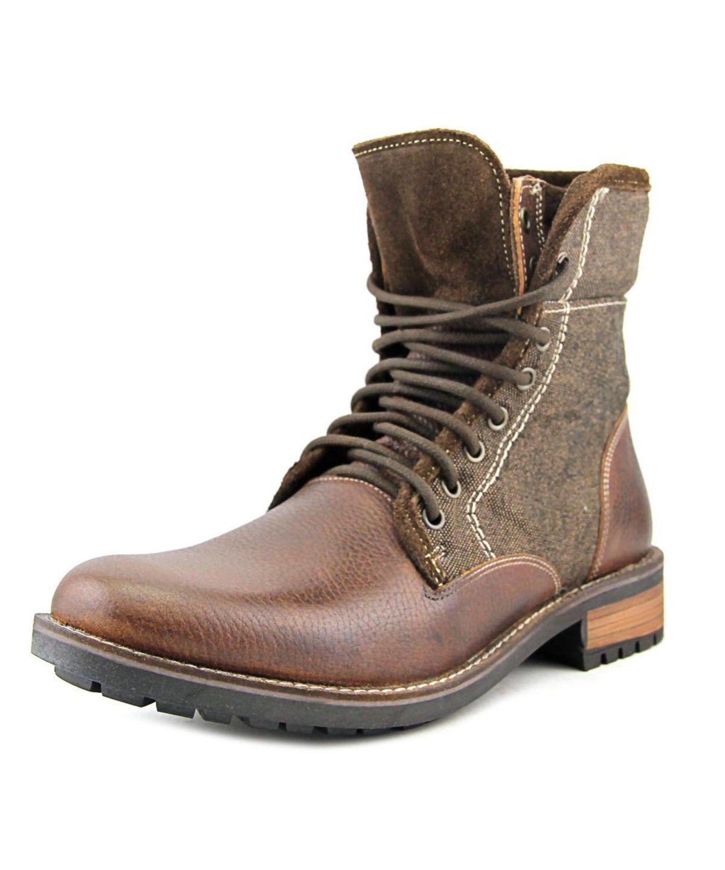 20cc16046 STEVE MADDEN Steve Madden Splinter Men Round Toe Leather Brown Boot .   stevemadden  shoes  boots
