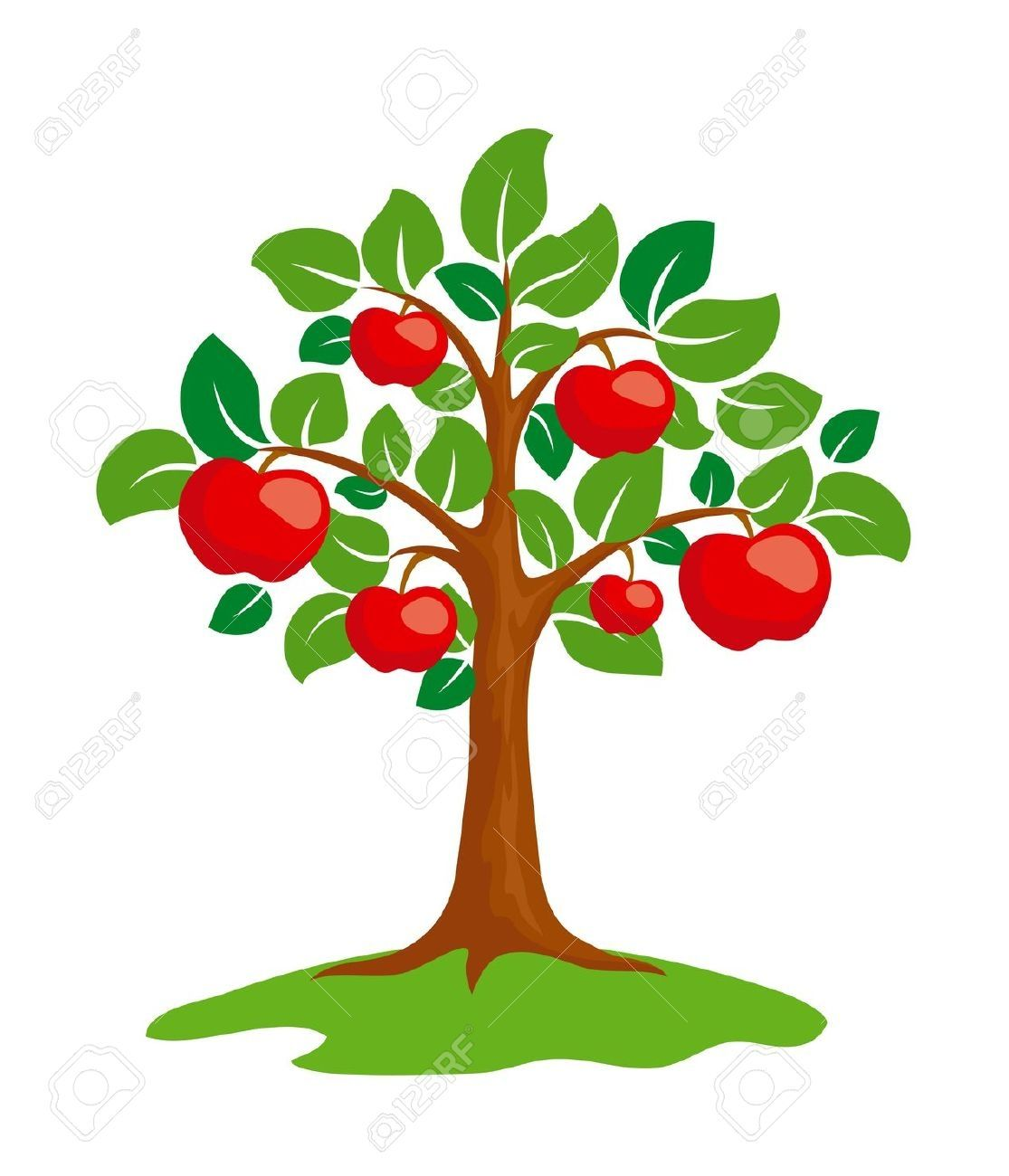 trunk clipart apple tree 17 jpg 1 115 1 300 pixels red day pinterest rh pinterest co uk clipart apple tree free clipart images of apple tree