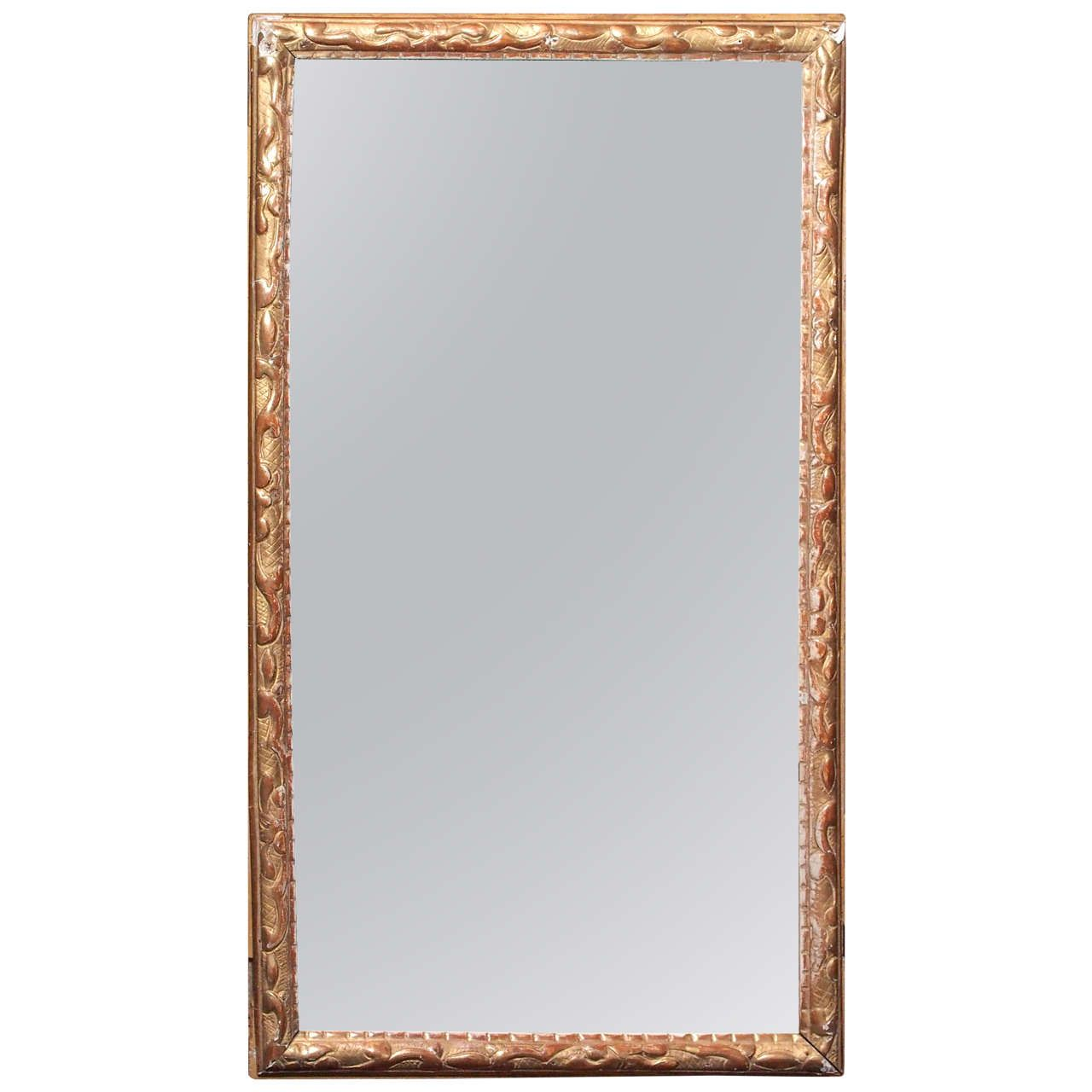 Williams sonoma home five panel beveled mirror - Mirror