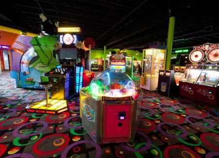 All Birthday Parties End In Our Arcade With Games And Prizes At The Castle Fun Center Chester NY Hudson Valley Orange County New York Amusement Park