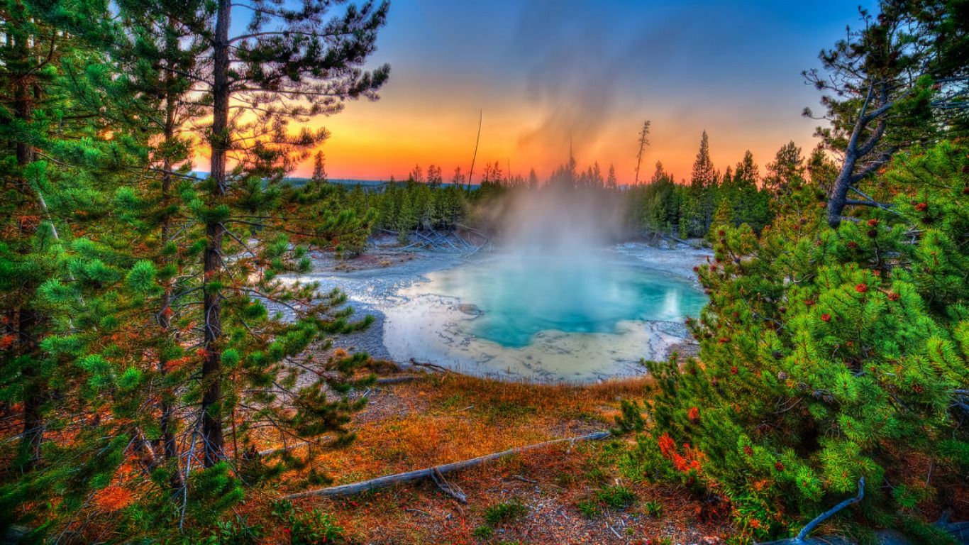 5 Yellowstone National Park Hd Wallpapers Backgrounds