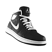 buy popular ecce7 64fc6 I designed the black Nike Air Jordan Alpha 1 iD basketball shoe with white  trim to support the Providence Friars.