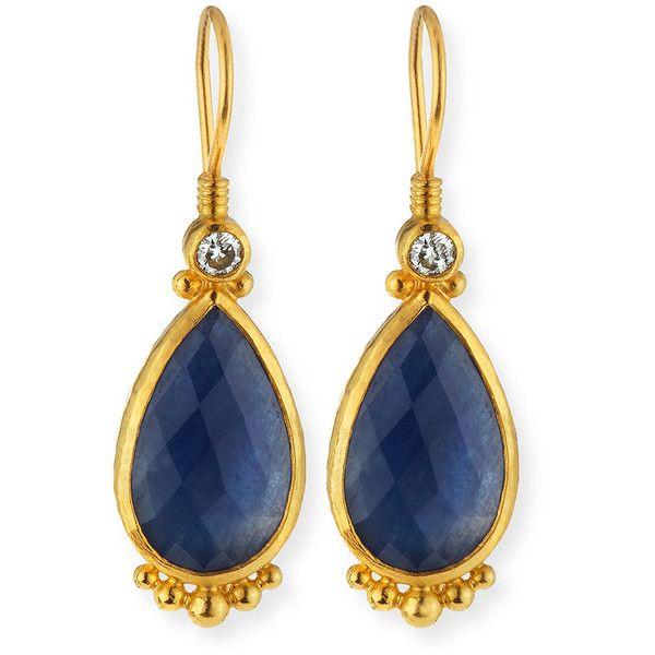 Gurhan Elements Sapphire Earrings 30wRfkZUT