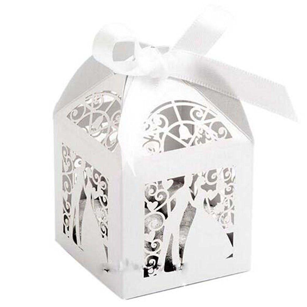 WINOMO Geschenkbox Kartonage Schachtel Hochzeit Party Favors Candy ...