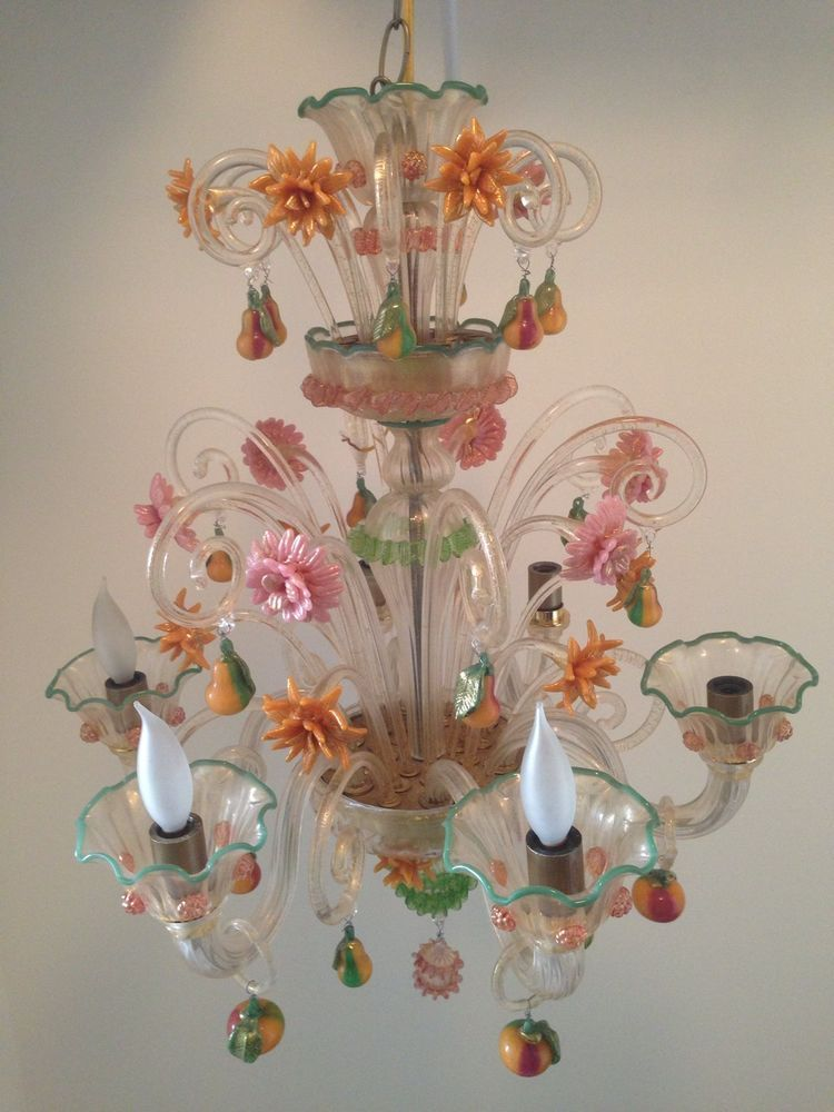 Antique Venetian Glass Chandelier - Antique Venetian Glass Chandelier Store Here Pinterest Glass