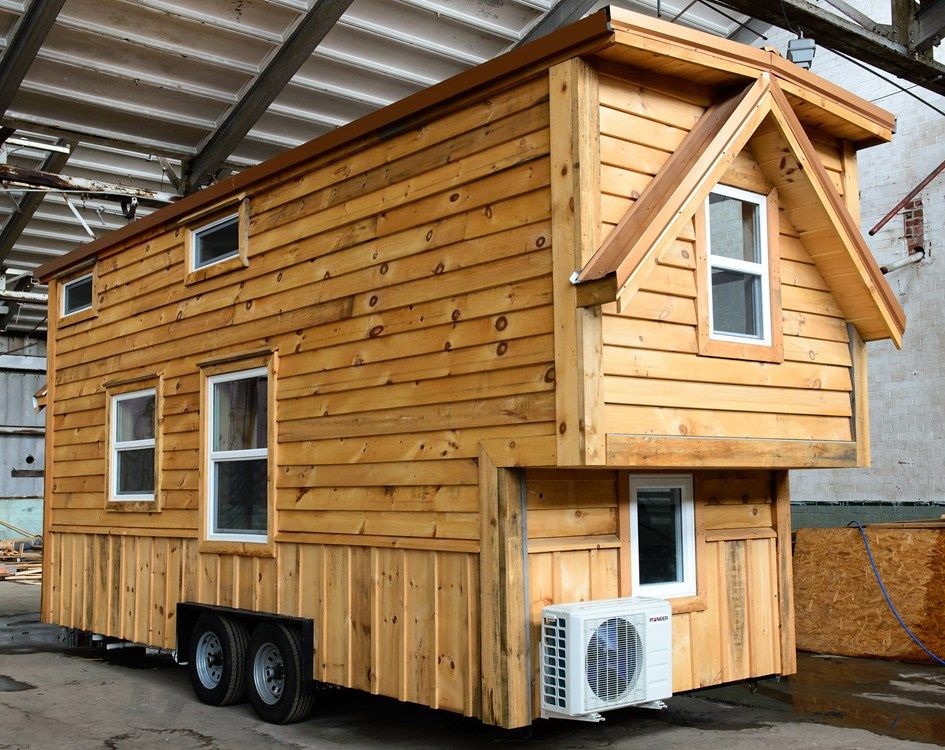 a two bedroom craftsman tiny house available for sale in knoxville rh pinterest com