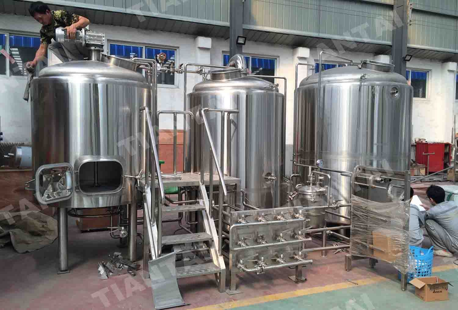 Turnkey 10bbl Beer Brewery System Delivered To Us Beer Brewery Beer Brewing Equipment Beer Equipment