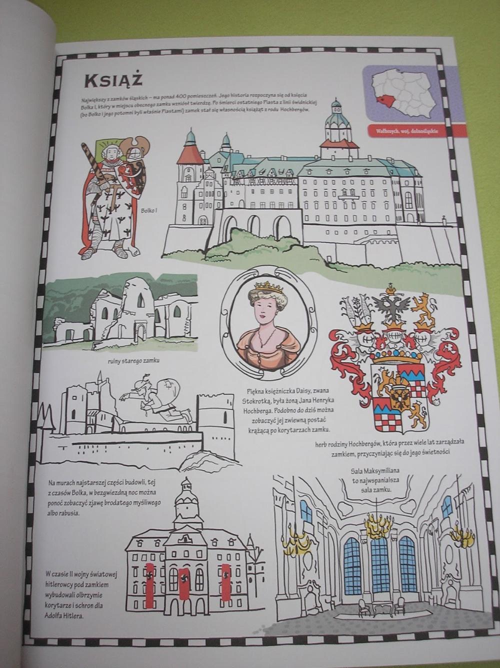Zamki W Polsce Do Kolorowania Wydawnictwo Olesiejuk Bullet Journal