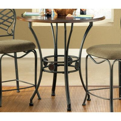 Steve Silver Wimberly 36 Inch Round Counter Height Table