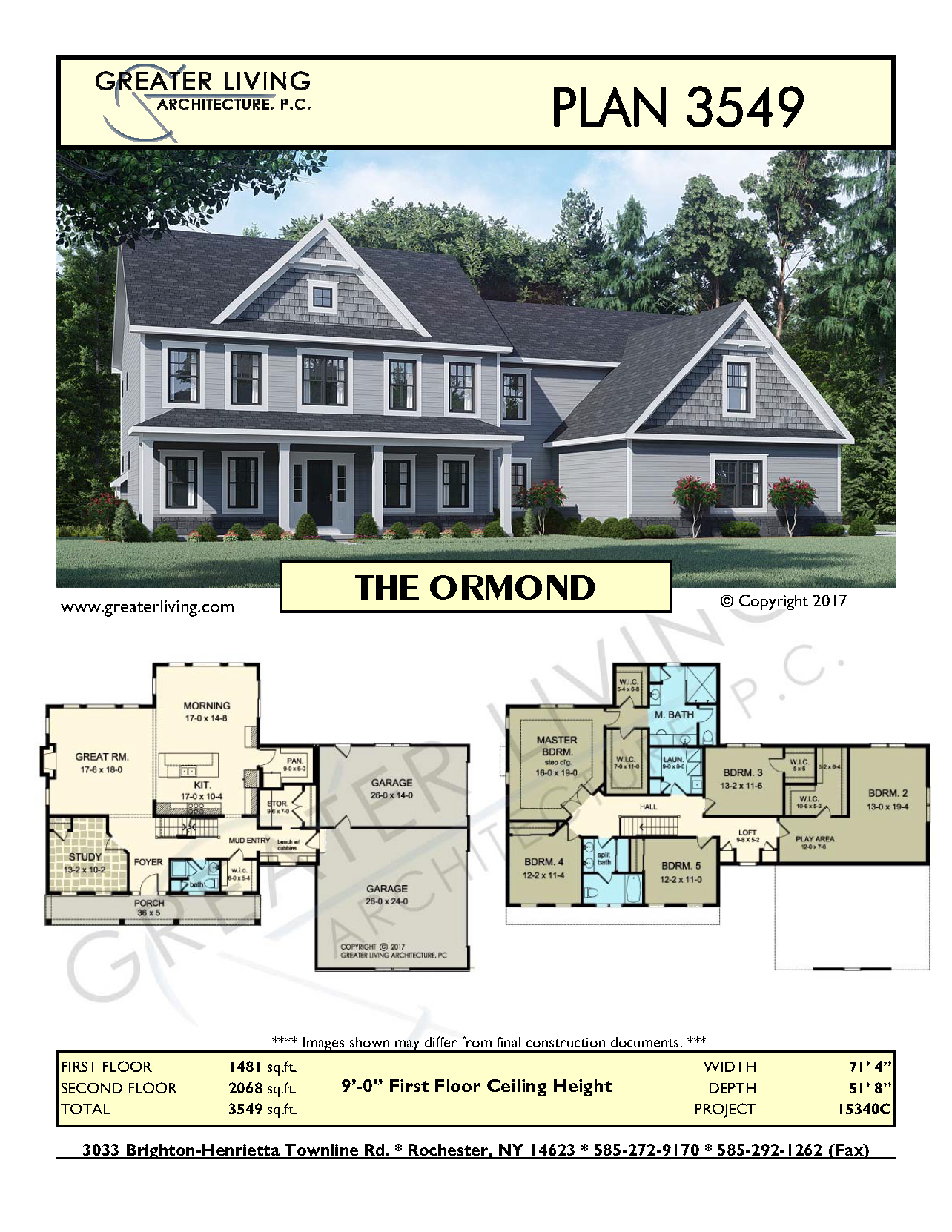 Plan 3549 The Ormond Two Story House Plan Greater Living Architecture Residential Architecture Sims House Plans Dream House Plans Two Story House Plans