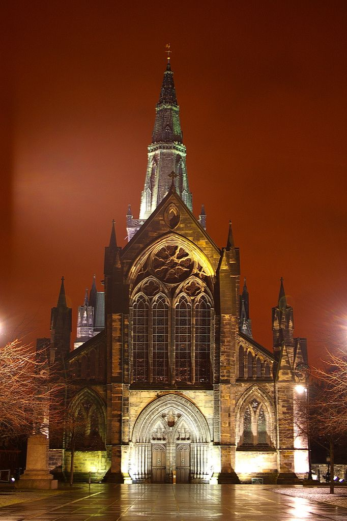 Glasgow Cathedral At Night | Flickr - Photo Sharing!