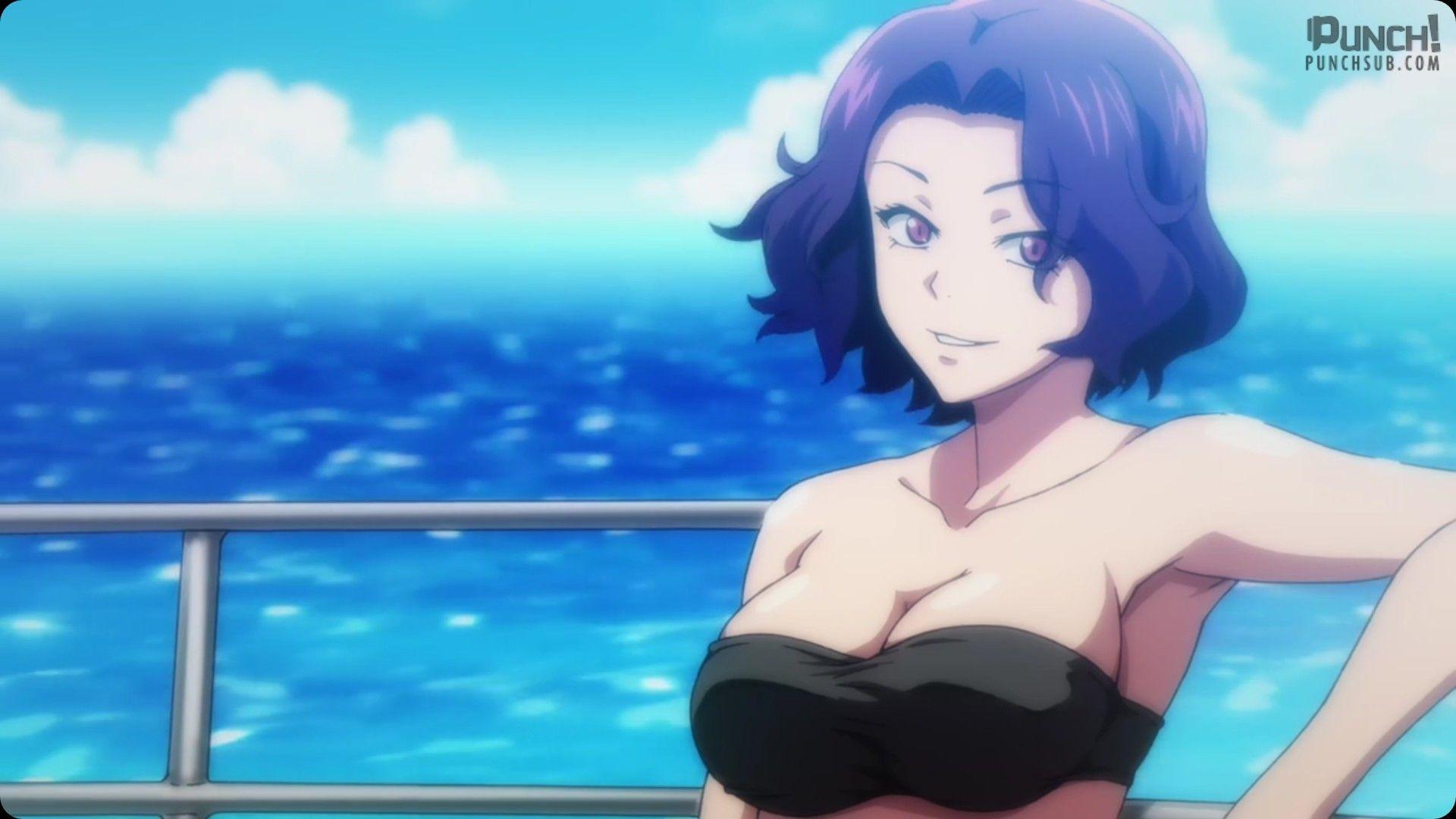 Azusa 3 Devushki Iz Anime Okean Anime