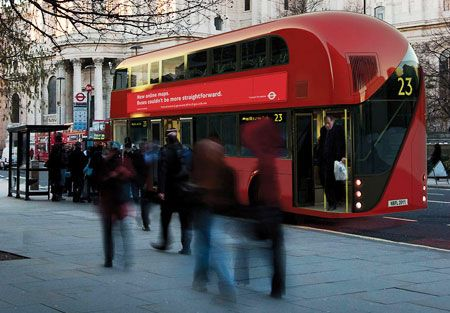 New 'Routemaster' bus unveiled for London