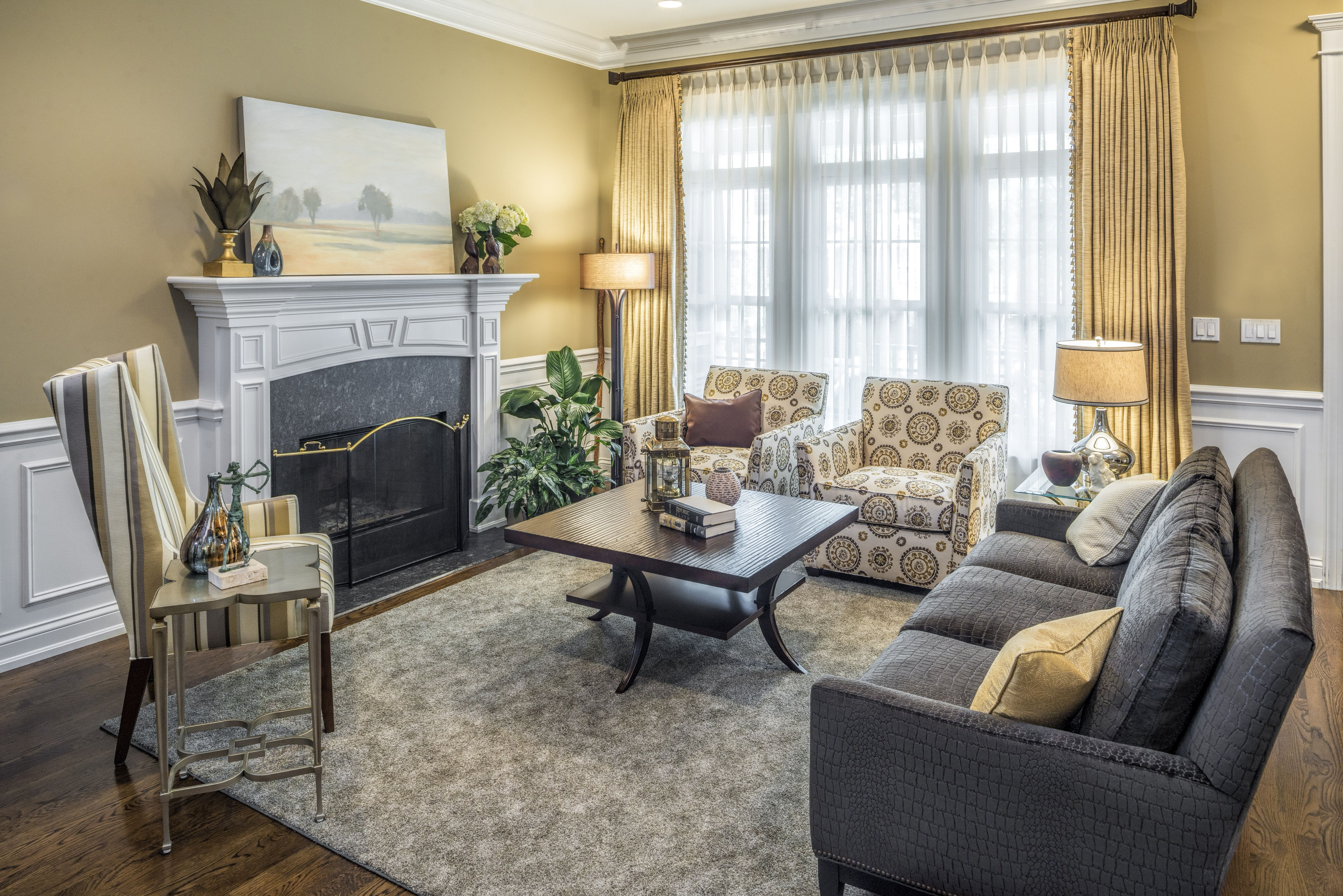beautiful yellow and gray rooms  priority home  design