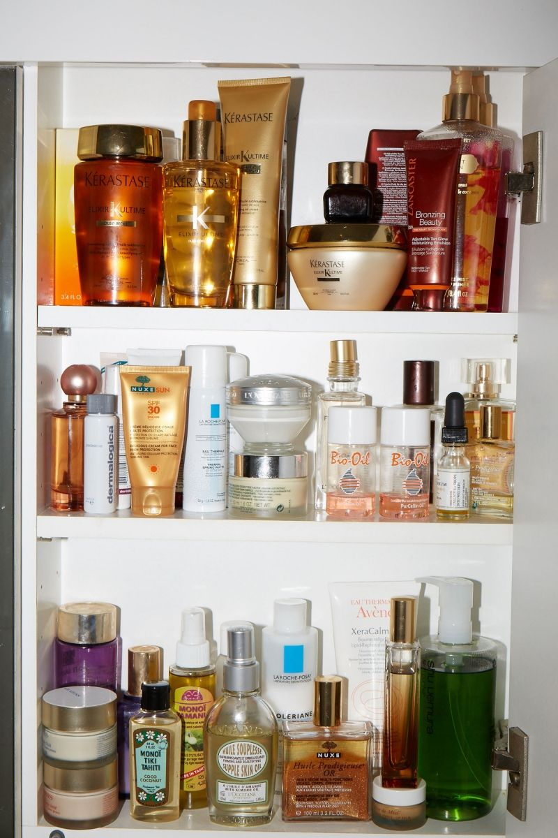 How to de clutter your beauty cabinet kendi everyday - Beauty Behind Closed Doors