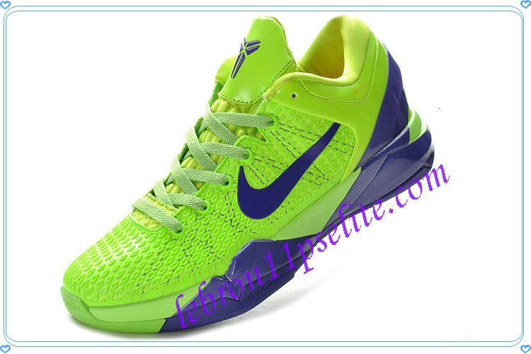 newest e9b40 a3265 Kobe 7 For Sale,Lebron James,Kobe Bryant Shoes Elite Grinch Fluorescent  Green Club Purple-A new sample of Kobe 7 For Sale