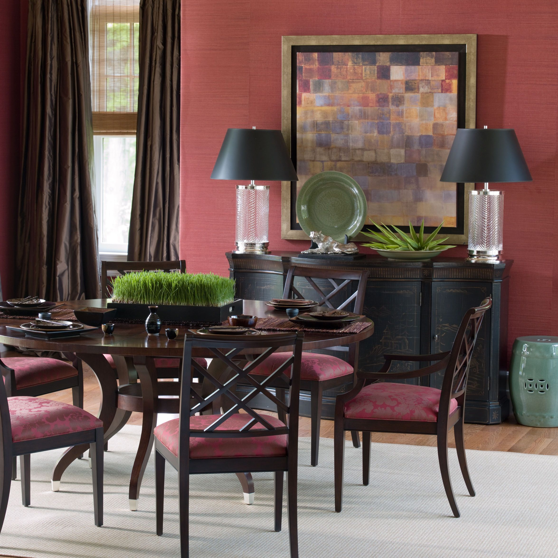 Ethan Allen Dining Room: Ethan Allen Iconics: The Ashcroft Dining Table- Ethan